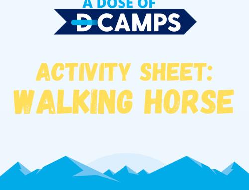 Walking Paper Horse
