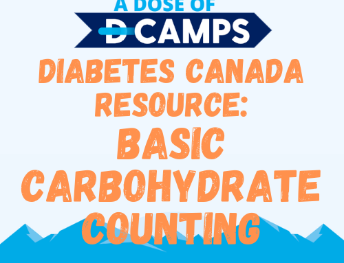 Diabetes Canada: Basic Carbohydrate Counting