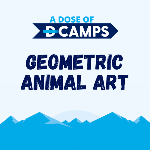 d-camps activity Animal Art