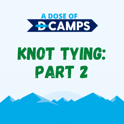 d-camps activity knot tying