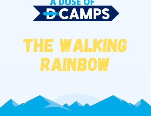 The Walking Rainbow Experiment
