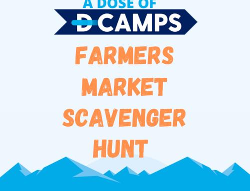 Farmers Market Scavenger Hunt!
