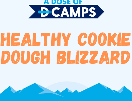 Healthy Cookie Dough Blizzard