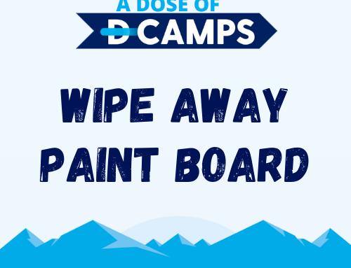Wipe Away Paint Board