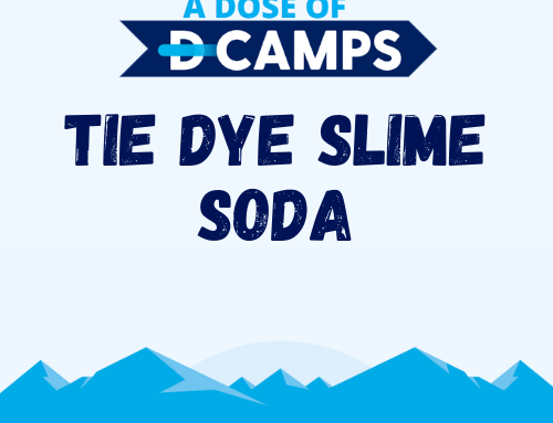 Tie Dye Slime Soda