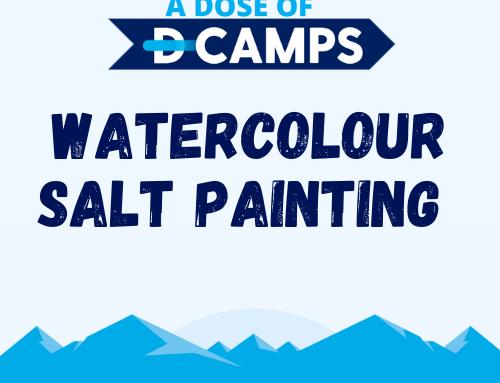 Watercolour Salt Painting
