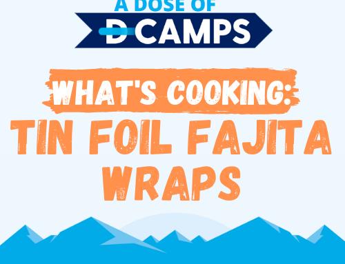 What's Cooking Wednesday: Tin Foil Fajita Wraps